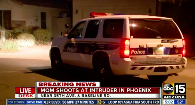 Pregnant Mom Scares Away Phoenix Home Intruder